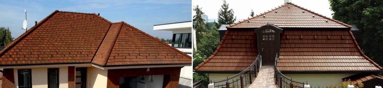 Rundo Colorsystem Ódon tetőcserép