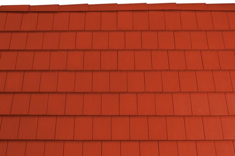Tondach Pilis egyenesvágású tetőcserép