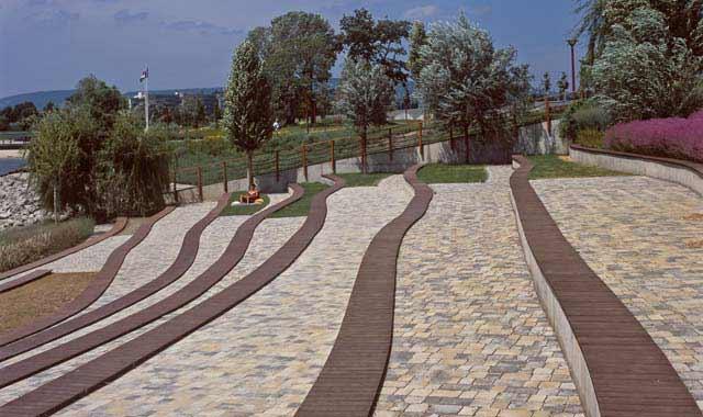 Semmelrock Appia Antica antikolt térkő