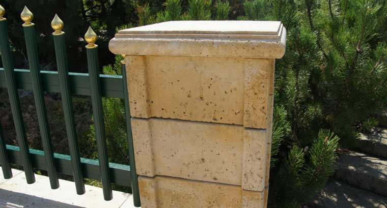 Semmelrock Travero kerítésrendszer