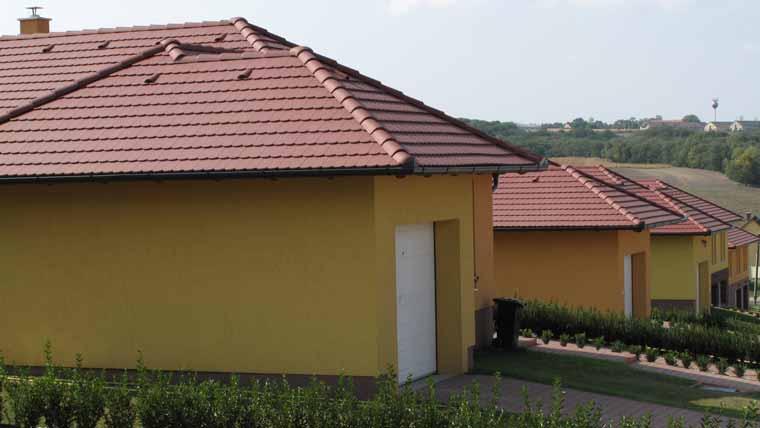 Terrán Rundo Colorsystem tetőcserép