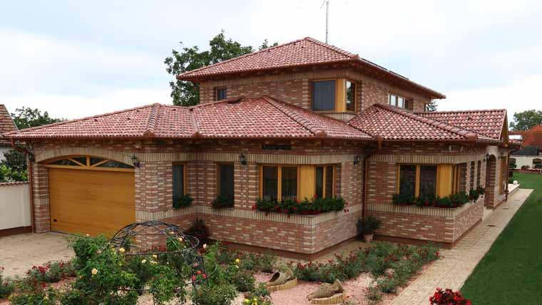 Terrán Coppo Colorsystem Ódon tetőcserép