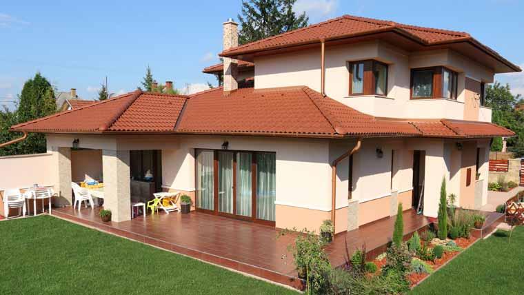 Terrán Standard Basic natúr tetőcserép