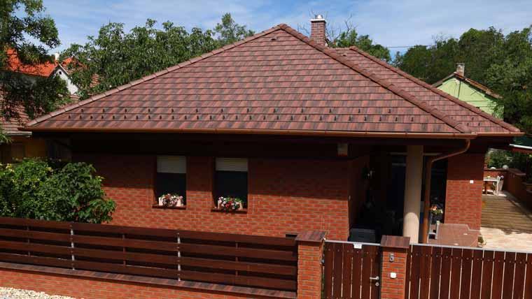 Terrán Zenit Colorsystem Ódon tetőcserép