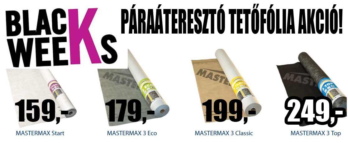 Masterplast Mastermax páraáteresztő tetőfólia