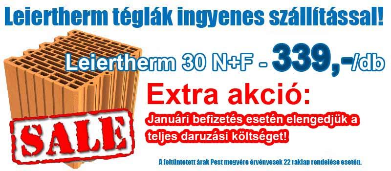 Leier Leiertherm 30 N+F tégla