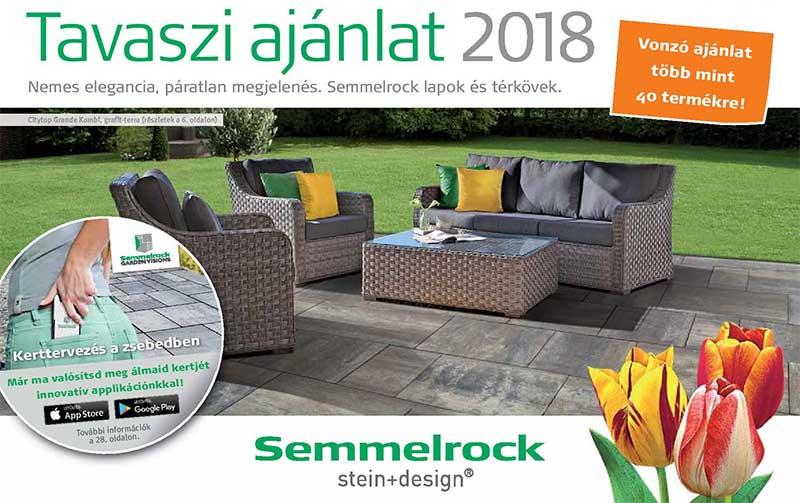 Semmelrock tavaszi térkő akció 2018
