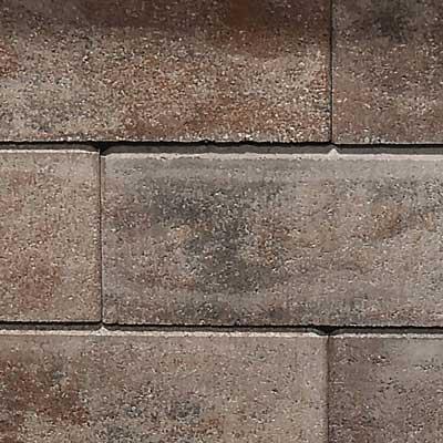 Semmelrock Asti kerítés borvörös-fekete