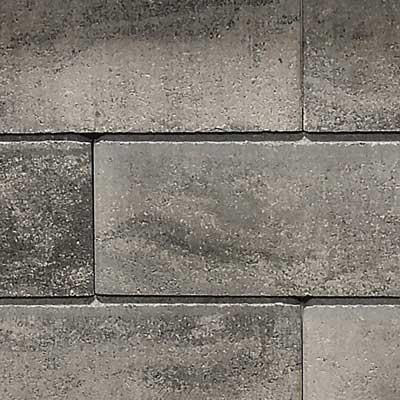 Semmelrock Asti kerítés grafit-fehér