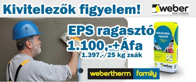 Weber Webertherm EPS ragasztó
