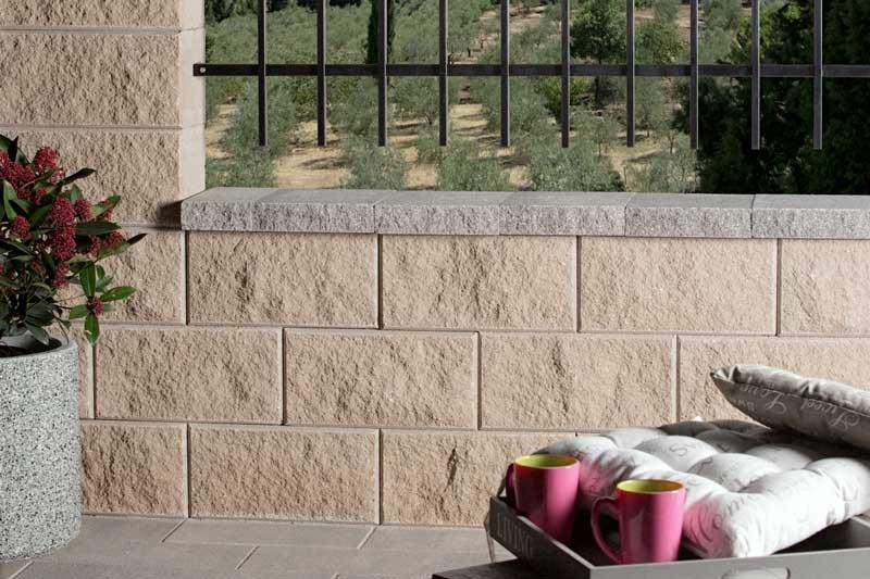 Leier Architektura kerítéskő beige