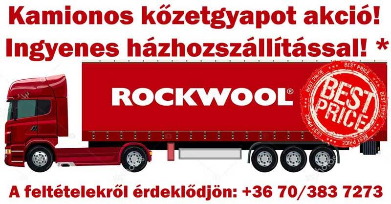 Rockwool kőzetgyapot akció