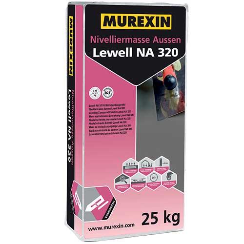 Murexin Lewell NA 320 kültéri aljzatkiegyenlítő