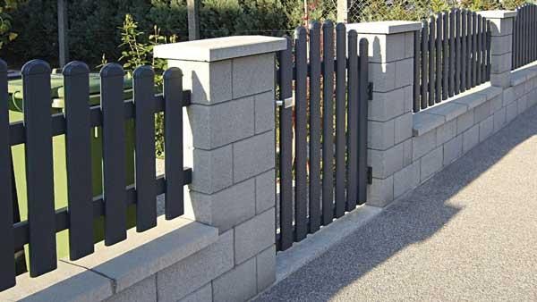 Semmelrock Rivago kerítés