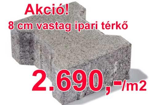Leier Solido 8 cm térkő akció