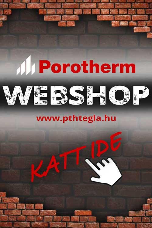 Porotherm Webáruház