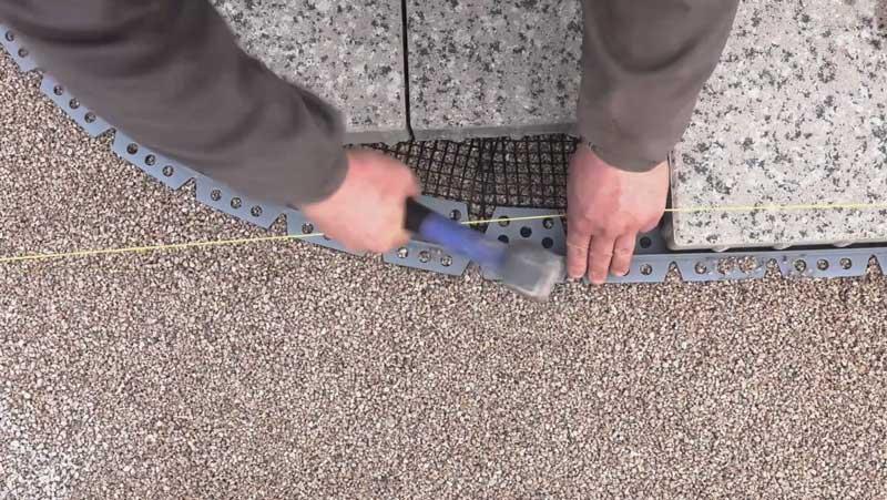 Steinfix térburkolat rögzítő