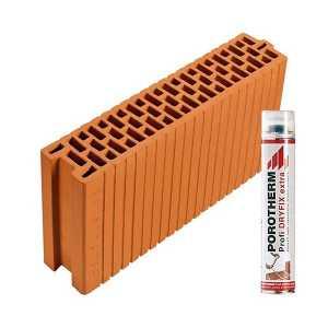 Porotherm Profi + Dryfix 12 N+F