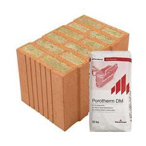 Porotherm Profi + V.F.H. 38 Thermo
