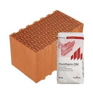 Porotherm Profi + V.F.H. 44 Klíma