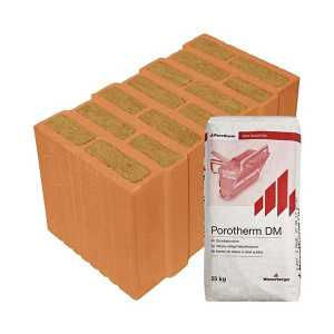 Porotherm Profi + V.F.H. 44 Thermo