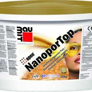 Baumit Nanopor Top öntisztuló vékonyvakolat