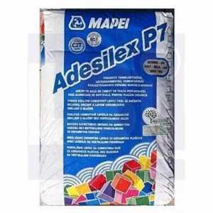 Mapei Adesilex P7 cementkötésű ragasztóhabarcs