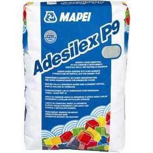 Mapei Adesilex P9 szürke ragasztóhabarcs