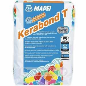 Mapei Kerabond T szürke cementkötésű ragasztóhabarcs