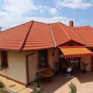 Terrán Danubia Colorsystem tetőcserép