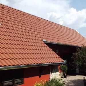 Terrán Synus Basic tetőcserép mogyoróbarna