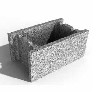 Leier beton zsalukő ZS 40