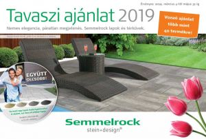 Semmelrock tavaszi térkő akció 2019